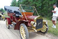 1907 Buick and owner Bill Jones