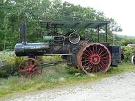 Case steam traction engine